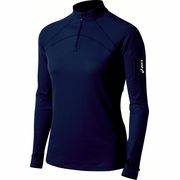 Asics Team Tech 1/2 Zip Workout Shirt - Women's
