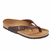 Birkenstock Adria Oiled Leather Thong Sandal