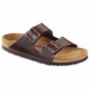 Birkenstock Arizona Soft Footbed Amalfi Leather Sandal