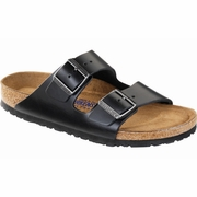 Birkenstock Arizona Soft Footbed Amalfi Leather Sandal - D/EE Width