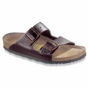 Birkenstock Arizona Soft Footbed Leather Sandal - Unisex - D-EE Width