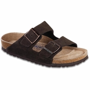 Birkenstock Arizona Soft Footbed Suede Leather Sandal - Unisex - B-C Width