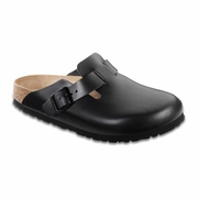 Birkenstock Boston Oiled Leather Clog - Unisex - D-EE Width