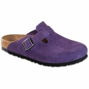 Birkenstock Boston Soft Footbed Suede Clog