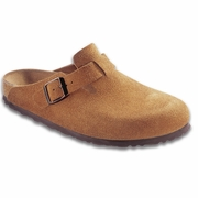 Birkenstock Boston Suede Clog