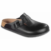 Birkenstock Boston Super Grip Leather Clog
