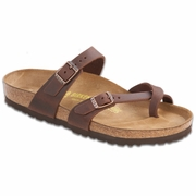 Birkenstock Gizeh Oiled Leather Thong Sandal - B/C Width