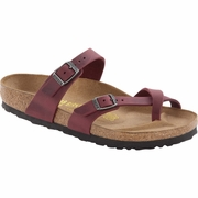 Birkenstock Mayari Oiled Leather Toe Loop Sandal - Women's - C/D Width