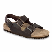 Birkenstock Milano Oiled Leather Sandal