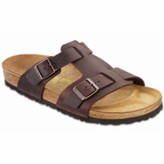 Birkenstock Riva Oiled Leather Fisherman Sandal - Men's - D/EE Width