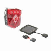Blackburn Flea 2.0 USB Bicycle Taillight with Solar Charger