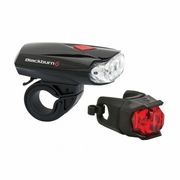 Blackburn Voyager 2.0 + Click Bicycle Light Combo