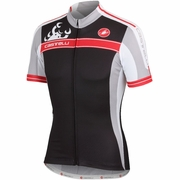 Castelli Autentica Full Zip Short Sleeve Cycling Jersey - Men's