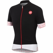 Castelli Endurance Full Zip Short Sleeve Cycling Jersey - Men's