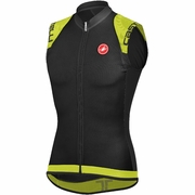 Castelli Entrata Full Zip Sleeveless Cycling Jersey - Men's