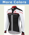 Castelli Free Full Zip Long Sleeve Cycling Jersey - Men's