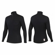 Castelli Merino Wool Long Sleeve Zip Neck Base Layer - Men's