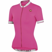 Castelli Perla FZ Short Sleeve Cycling Jersey - Women's