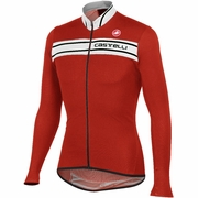 Castelli Prologo 3 Full Zip Long Sleeve Cycling Jersey - Men's