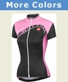 Castelli Tesoro Full Zip Short Sleeve Cycling Jersey - Women's