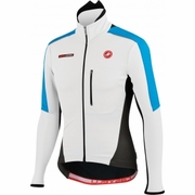 Castelli Trasparente Due Wind FZ Long Sleeve Cycling Jersey - Men's