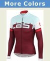 Castelli Unavolta Full Zip Long Sleeve Cycling Jersey - Men's