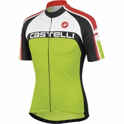 Castelli Velocissimo DS FZ Short Sleeve Cycling Jersey - Men's