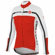 Castelli Velocissimo Equipe FZ Long Sleeve Cycling Jersey - Men's