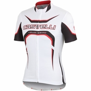 Castelli Velocissimo Tour Full Zip Short Sleeve Cycling Jersey - Men's