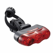 CatEye Rapid 3 TL-LD630-R Rear Bicycle Safety Light