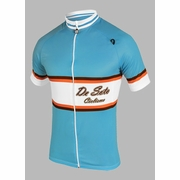 De Soto Nassau Skin Cooler Short Sleeve Cycling Jersey - Men's