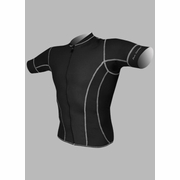 De Soto Riviera Full Zip Short Sleeve Triathlon Top - Men's