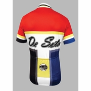 De Soto Skin Cooler Short Sleeve Cycling Jersey - Men's