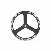 HED H3 Flamme Rouge Clincher Rear Bicycle Wheel