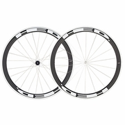 HED Jet 4 Flamme Rouge Clincher Bicycle Wheelset - Stallion Build