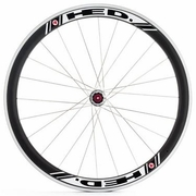 HED Jet 4 Flamme Rouge Rear Clincher Wheel - Stallion Build