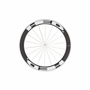 HED Jet 6 Flamme Rouge Clincher Front Bicycle Wheel - Stallion Build