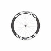 HED Jet 6 Flamme Rouge Tubular Rear Bicycle Wheel - Stallion Build