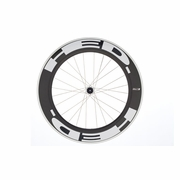HED Jet 9 Flamme Rouge Clincher Rear Bicycle Wheel - Stallion Build