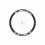 HED Stinger 4 Flamme Rouge Carbon Tubular Front Bicycle Wheel