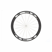 HED Stinger 5 Flamme Rouge Carbon Tubular Front Bicycle Wheel