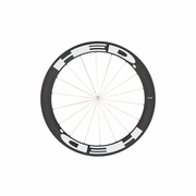 HED Stinger 6 Flamme Rouge Carbon Tubular Front Bicycle Wheel