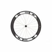 HED Stinger 6 Flamme Rouge PowerTap G3 Carbon Tubular Rear Bicycle Wheel