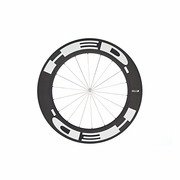 HED Stinger 9 Flamme Rouge Carbon Tubular Front Bicycle Wheel