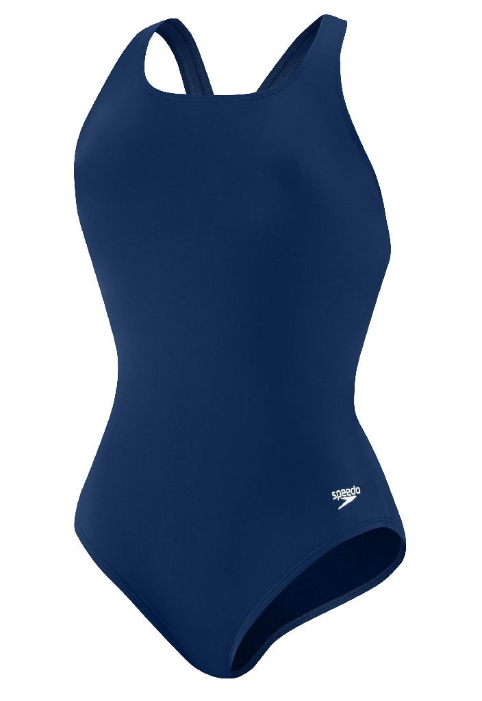 Speedo Endurance Plus Moderate Ultra Back Swimsuit - Women's Size 8 Color NauticalNavy at Sears.com