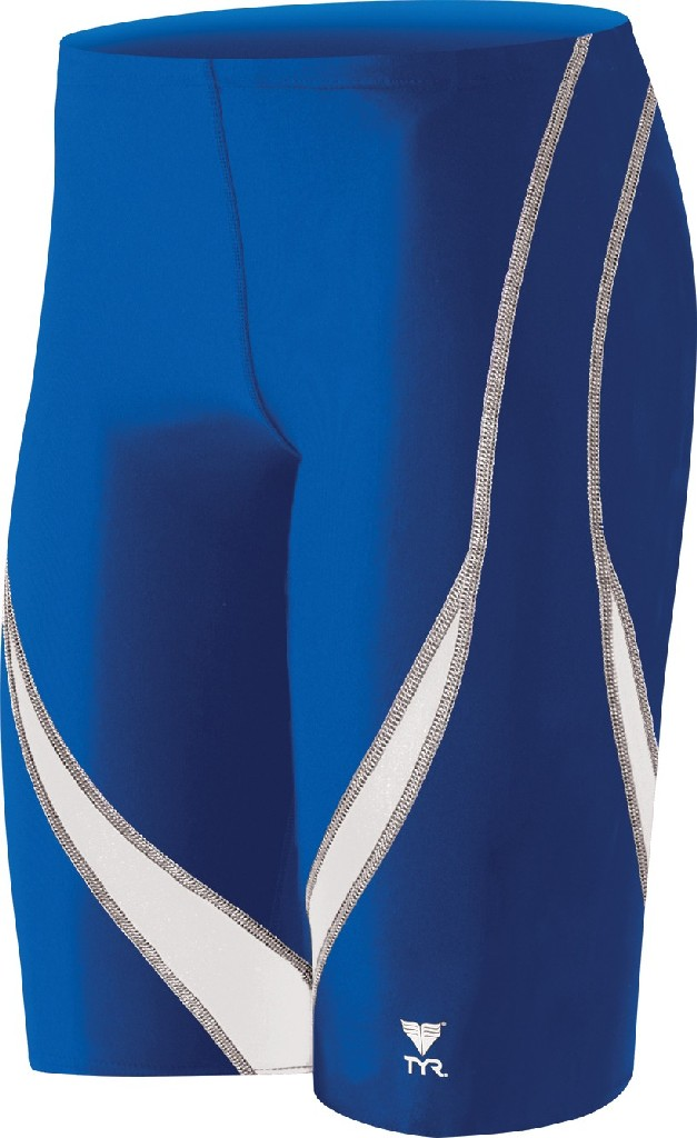 TYR Alliance Splice Swim Jammer - Boy's Size 24 Color Royal/White at Sears.com
