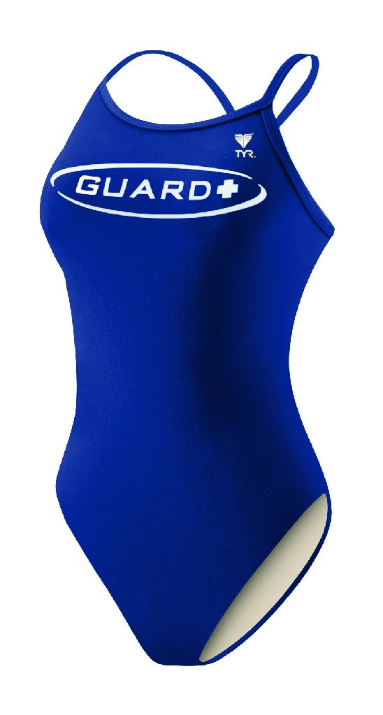 TYR Guard Tyreco Solid Diamondfit Swimsuit - Women's Size 34 Color Navy at Sears.com
