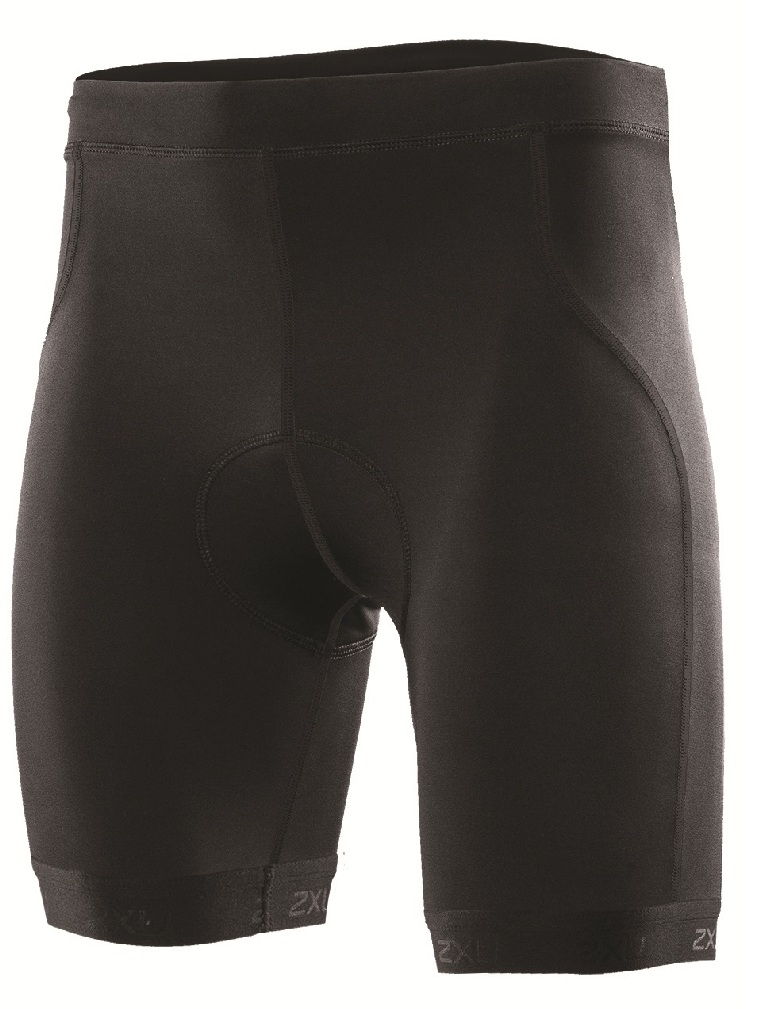 2XU Active Triathlon Short Men's Size XXL Black U.S.A. & Canada
