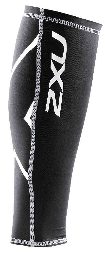 2XU Compresion Calf Guard Size L Black U.S.A. & Canada