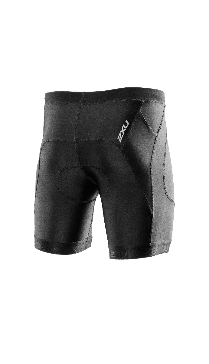 2XU Perform 7 Triathlon Short Men's Size S Black U.S.A. & Canada